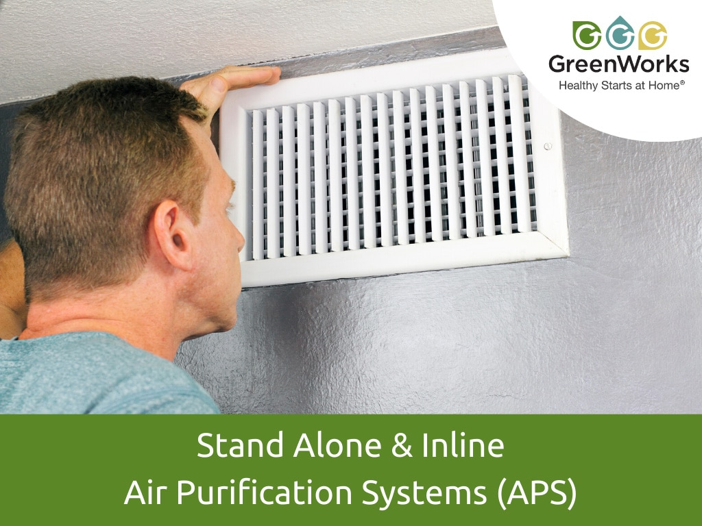 Stand Alone & Inline Air Purification Systems (APS)
