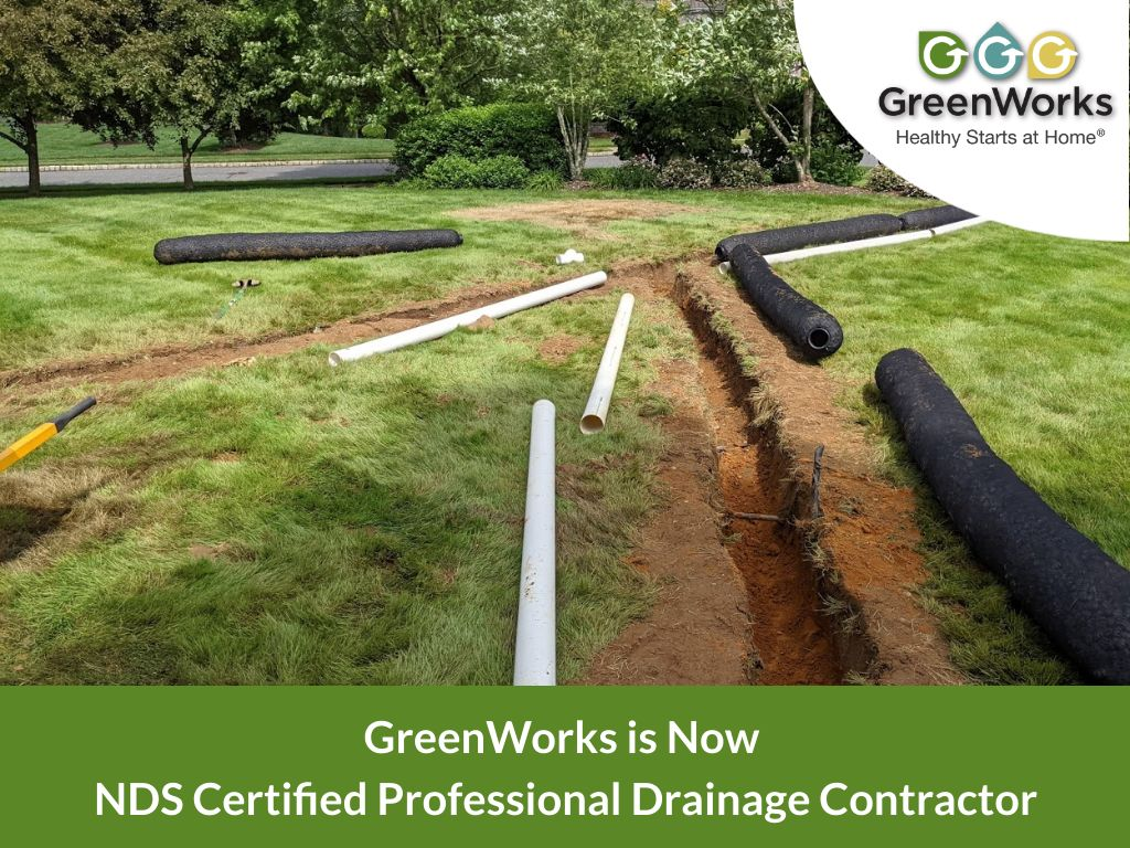 greenworks nds certified professional Drainage contractor